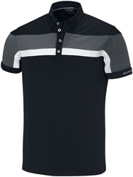 Galvin Green Men's Mitchell Ventil8 Polo Black