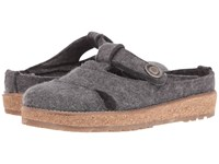 Haflinger Violeta Grey Women's Sandals Gray