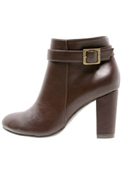 Anna Field Ankle Boots Brown