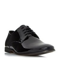 Howick Realm P Patent Gibson Shoe Black