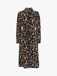 Lk Bennett L.K.Bennett Runa Silk Shirt Dress Multi