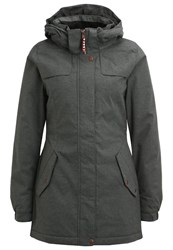 O'neill Timber Winter Coat Donkergrijs Black