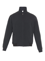 Lemaire Zip Up Gabardine Bomber Jacket