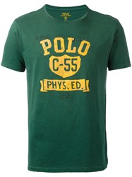 Polo Ralph Lauren Logo Patch T Shirt Green