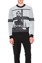 Opening Ceremony Contact Sheet Crewneck In Black