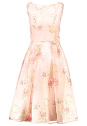 Chi Chi London Amya Cocktail Dress Party Dress Pink Rose