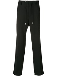 Diesel Side Stripe Trousers Black
