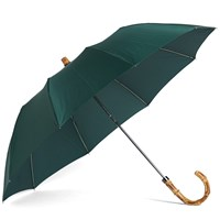 London Undercover Whangee Telescopic Umbrella Green