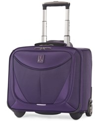 Travelpro Closeout Walkabout 3 15.5 Rolling Carry On Created For Macy's Dark Purple