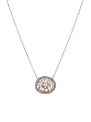 Susan Foster Diamond And White Gold Necklace