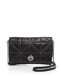 Milly Wythe Quilt Convertible Crossbody Black