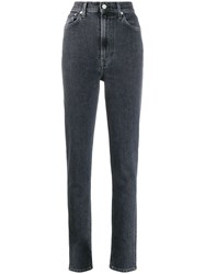 Helmut Lang High Waisted Jeans Grey