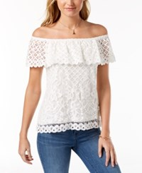 Maison Jules Off The Shoulder Top Created For Macy's Cloud