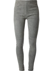 Mm6 By Maison Martin Margiela Skinny Trousers Grey