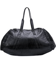 Julius Textured Holdall Black