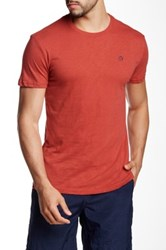 Mr. Swim Slub Crew Neck Tee Red