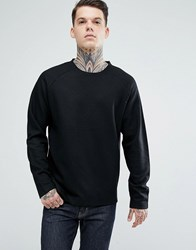 Bellfield Wool Blend Sweatshirt Black