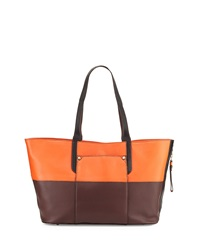 Tatiana Colorblock Tote Bag Paprika Multi Oryany
