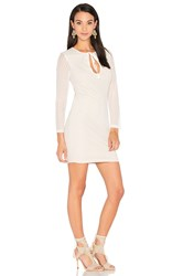 Wyldr Stereo Bodycon Dress Ivory