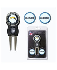 Team Golf San Diego Chargers Divot Tool And Markers Set Team Color