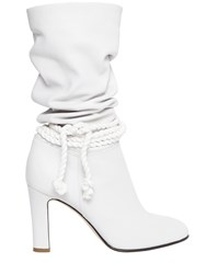 Philosophy Di Lorenzo Serafini 90Mm Slouchy Grained Leather Boots