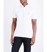The Kooples Classic Fit Cotton Polo Shirt Whi52