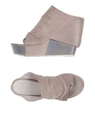 Cinzia Araia Footwear Thong Sandals Women Dove Grey