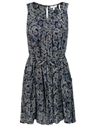 Fat Face Albany Coins Dress Navy