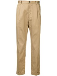 Loveless Tailored Trousers Brown