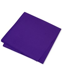 Club Room Men's Simple Solid Pocket Square Only At Macy's Eggplant