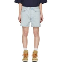 Acne Studios Blue Bla Konst Denim Canoe Shorts
