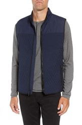 Vince Camuto Slim Fit Quilted Vest Navy