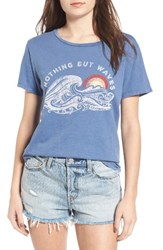 Billabong Women's Hawaii Waves Graphic Tee