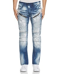 Prps Goods And Co. Tally Slim Fit Jeans In Indigo Blue Indigoblue