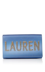Preciously Paris Blue Ombre Clutch