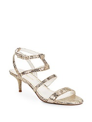 Enzo Angiolini Biarritz Strappy Leather Sandals