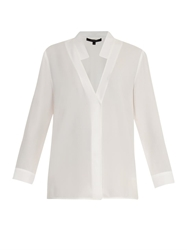Wes Gordon Lightweight Crepe Blouse