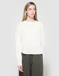 Christophe Lemaire Raglan Blouse In White