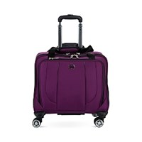 Delsey Helium Cruise Wheeled Spinner Tote Purple