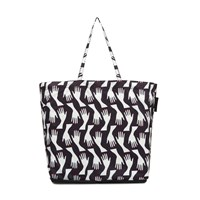 Lulu Guinness Hug Print Foldaway Shopper Multi Coloured Multi Coloured
