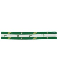 Little Earth Oakland Athletics 3 Pack Elastic Headbands Team Color