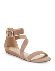 Charles By Charles David Melissa Flat Strappy Sandals Taupe