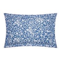 Joules Orchard Ditsy Oxford Pillowcase Blue Yonder