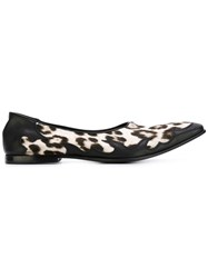 Haider Ackermann Leopard Print Loafers Black
