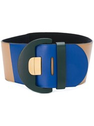 Marni Oversized Belt Nude And Neutrals