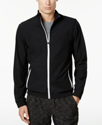Ideology Men's Track Jacket Created For Macy's Deep Black