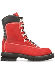 Premiata Mountain Boots Red