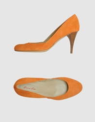 Emma Lou Pumps Orange
