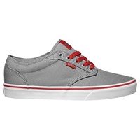 Vans Atwood Canvas Trainers Frost Grey Red