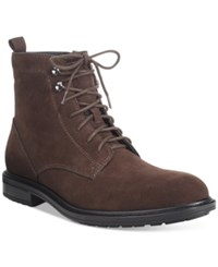 Alfani Men's Joey Plain Toe Boots Only At Macy's Men's Shoes Brown
